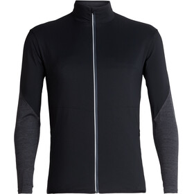 Icebreaker Tech Trainer Hybrid Running Jacket Men grey/black